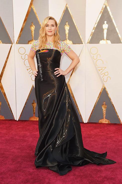 مدل لباس کیت وینسلت Kate Winslet در اسکار 2016