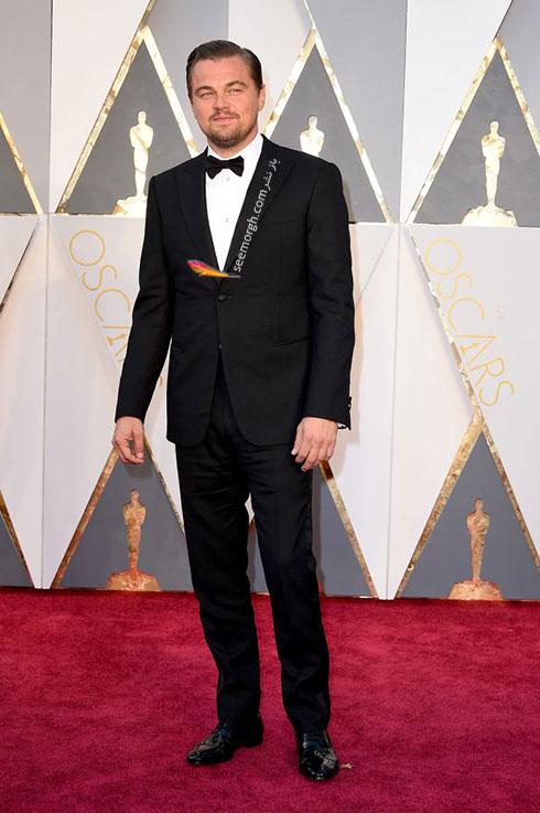 مدل لباس لئوناردو دی کاپریو Leonard DiCaprio در اسکار 2016