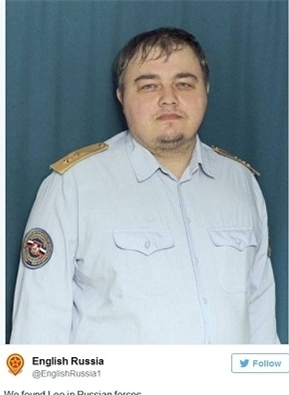 همزاد لئوناردو دی کاپریو در روسیه