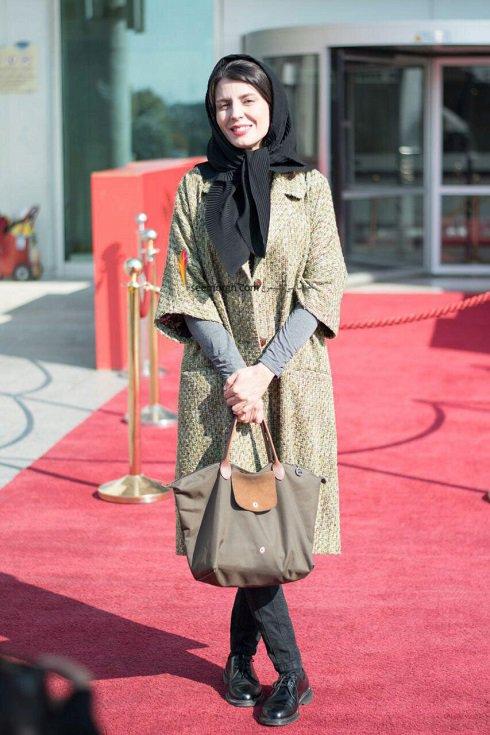 مدل لباس لیلا حاتمی در ششمین روز سی و چهارمین جشنواره فیلم فجر