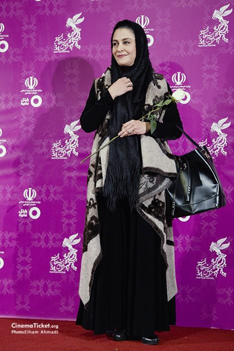 مدل مریلا زارعی در سی و چهارمین جشنواره فیلم فجر