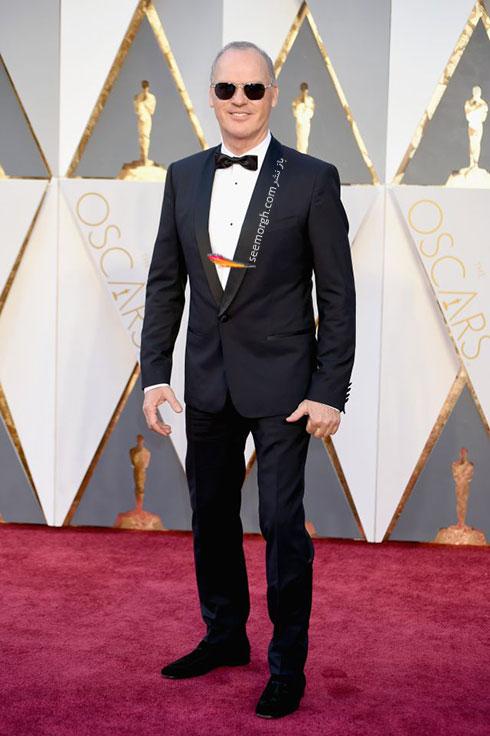 مدل لباس مایکل کیتون Michael Keaton در اسکار 2016