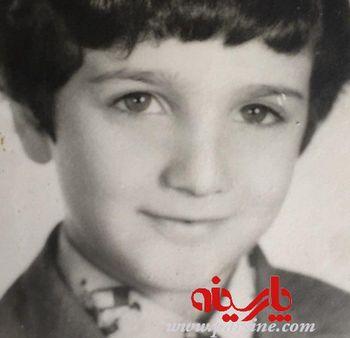 عکس کودکی محمدرضا فروتن