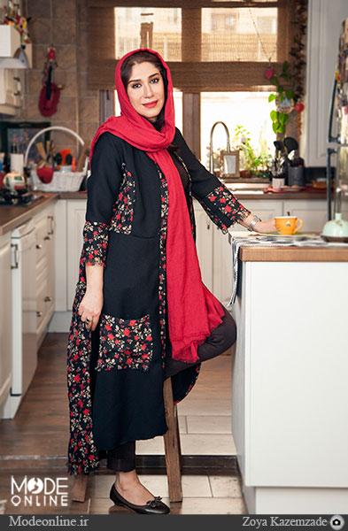 نسیم ادبی بازیگری که طراح لباس هم است