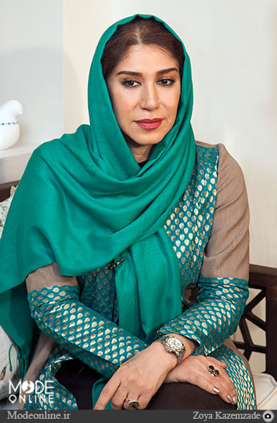 نسیم ادبی بازیگر خواهر شهرزاد در سریال شهرزاد