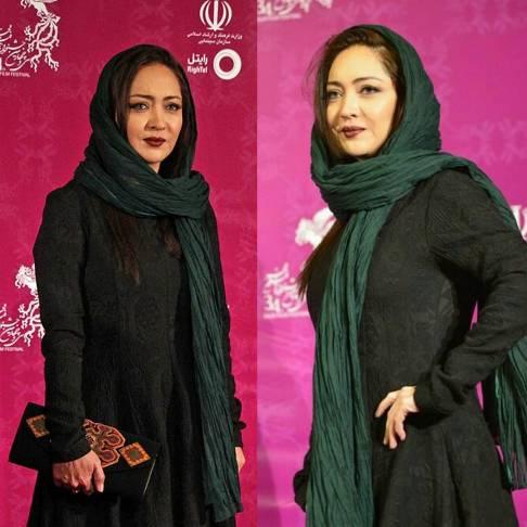 عکس نیکی کریمی جشنواره فیلم فجر