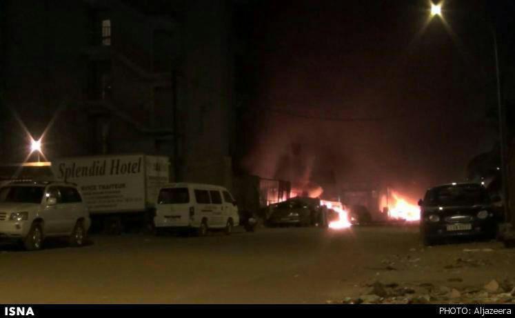 انفجارهای مهیب درمحل اقامت کارکنان سازمان ملل در بورکینافاسو+ عکس