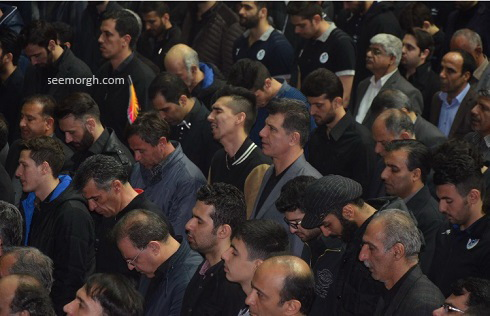 تصاویر تشییع رضا ابراهیمی