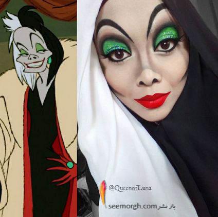 شخصیت های کارتونی با حجاب 5