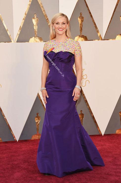 مدل لباس ریس ویترسپون Reese Witherspoon در اسکار 2016