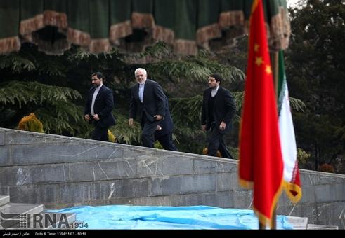 استقبال رسمی روحانی از رئیس جمهور چین