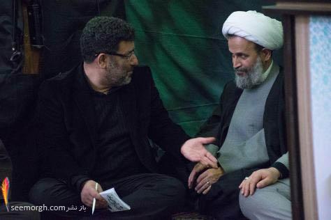 سعید حدادیان و حجتالاسلام پناهیان