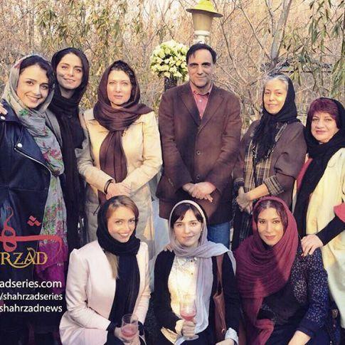بازیگران زن سریال شهرزاد