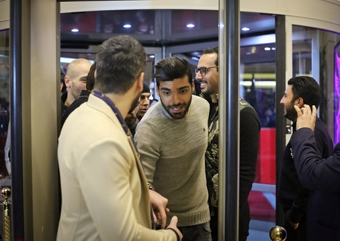 مهدی طارمی در فرش قرمز جشنواره فیلم فجر