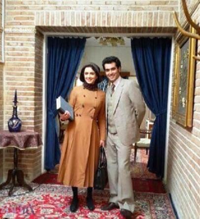 ترانه علیدوستی و شهاب حسینی در سریال شهرزاد