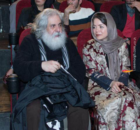 مهتاب نصیرپور و همسرش محمد رحمانیان