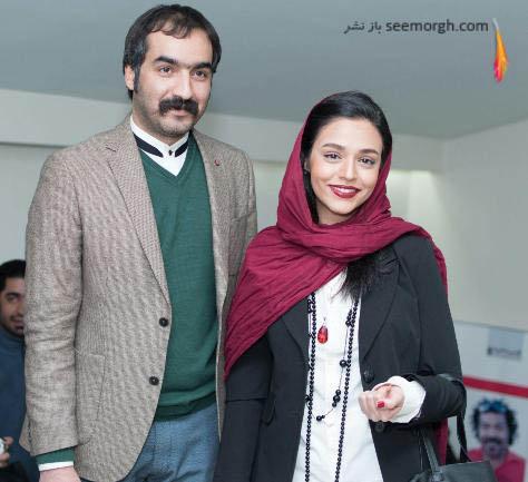 سجاد افشاریان در مراسم اکران فیلم دو