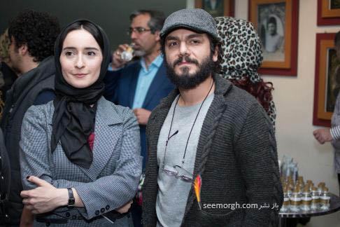 عباس غزالی در کنار سهیلا گلستانی