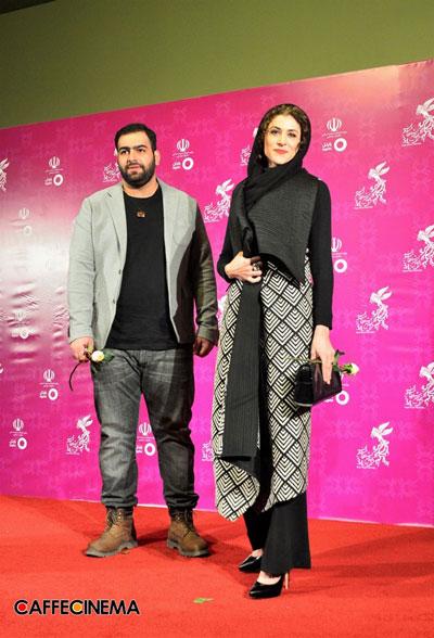 مدل لباس ویشکا آسایش در سی و چهارمین جشنواره فیلم فجر