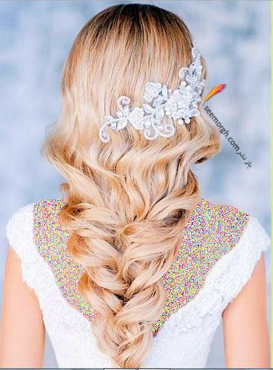 مدل موی باز برای مدل مو عروس - مدل شماره 5