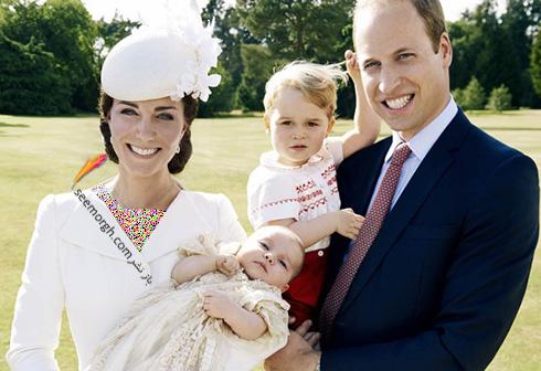کیت میدلتون Kate Middleton، شاهزاده ویلیام William، جرج george و شارلوت Charlotte - چند روز پس از تولد شارلوت Charlotte