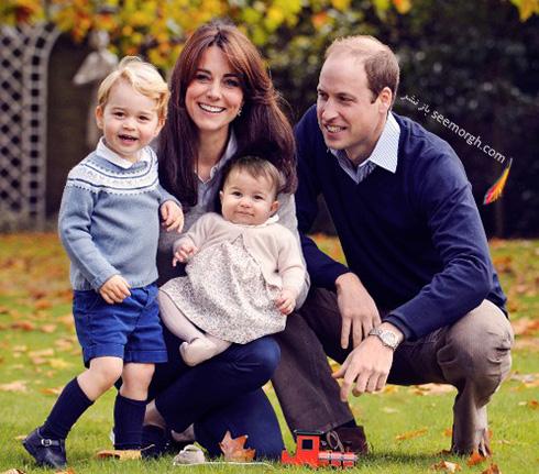 عکس های جدید کیت میدلتون Kate Middleton، شاهزاده ویلیام William، جرج george و شارلوت Charlotte