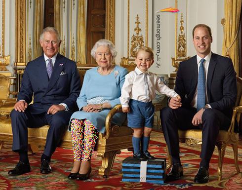 شاهزاده ویلیام William و پرنس جرج george
