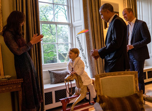 شاهزاده ویلیام William ، کیت میدلتون Kate Middleton و پرنس جرج george