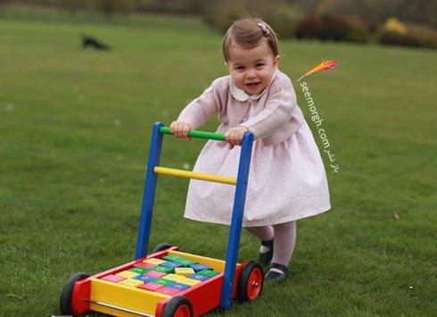 عکس های جدید شارلوت Charlotte فرزند دوم کیت میدلتون Kate Middleton