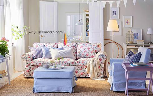 مبل مناسب برای دیوارهای سفید - عکس شماره 3