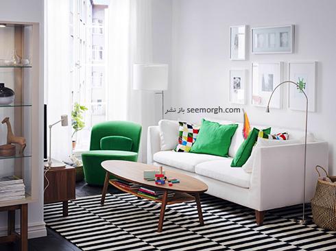 مبل مناسب برای دیوارهای سفید - عکس شماره 4