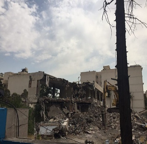 خانه همسر رضاشاه شبانه تخریب شد