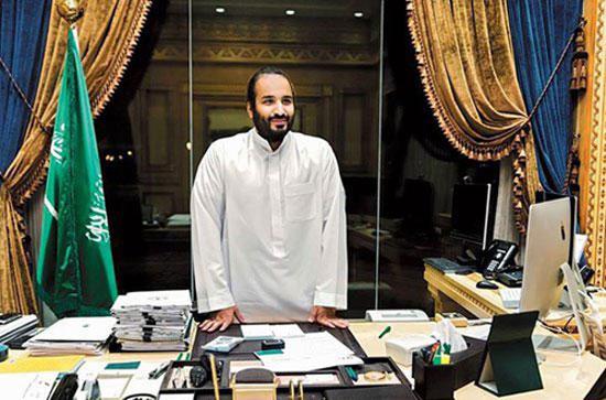 کاخ شاهزاده محمد بن سلمان، پسر پادشاه عربستان
