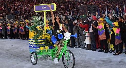 عکس یک دوجنسه در المپیک 2016