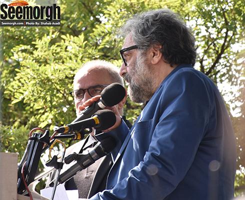 مسعود کیمیایی در کنار پرویز پرستویی