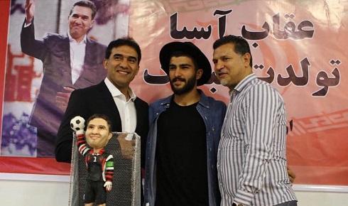 عکس علی دایی، امیر عابدزاده و احمدرضا عابدزاده