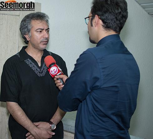 محمدرضا هدایتی در اکران فیلم آبنبات چوبی