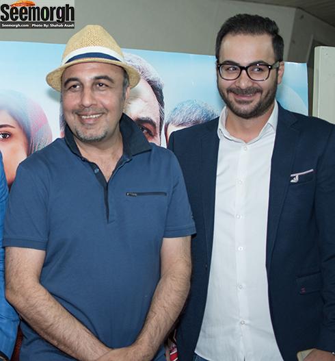 حامد تهرانی در کنار رضا عطاران