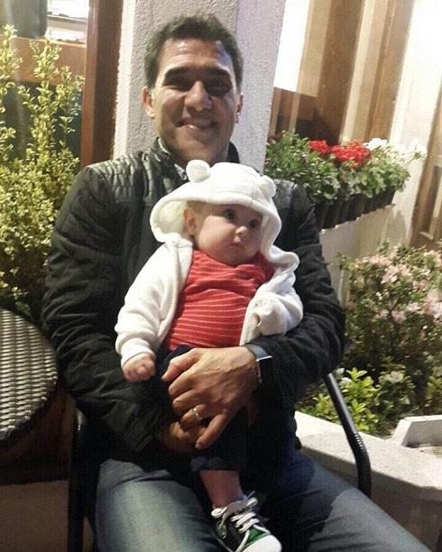 عابدزاده در رستورانش