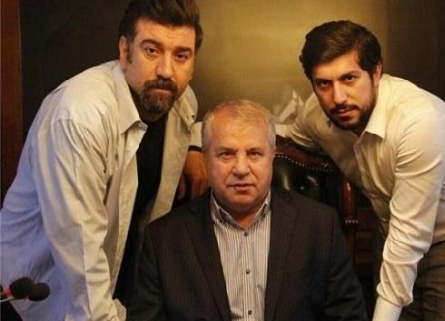 عکس علی پروین در یک سریال