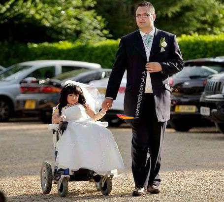 مراسم ازدواج آماندا و استیون