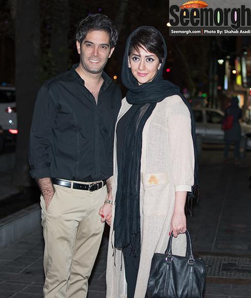 عکس جدید امیرعلی نبویان و همسرش
