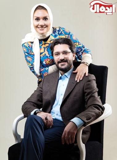 امیرحسین مدرس و همسرش بهار بهاردوست