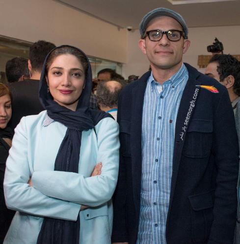 عکس جدید بابک حمیدیان و مینا ساداتی