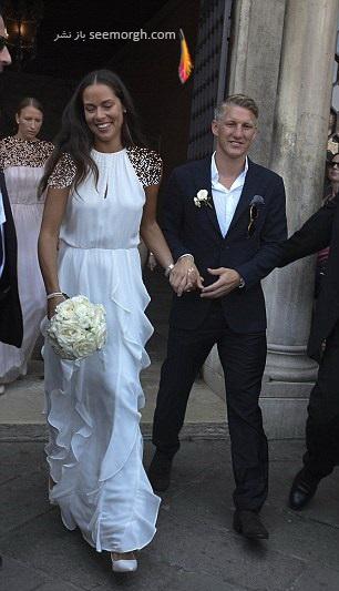 ازدواج باستین شواین اشتایگر و آنا ایوانوویچ