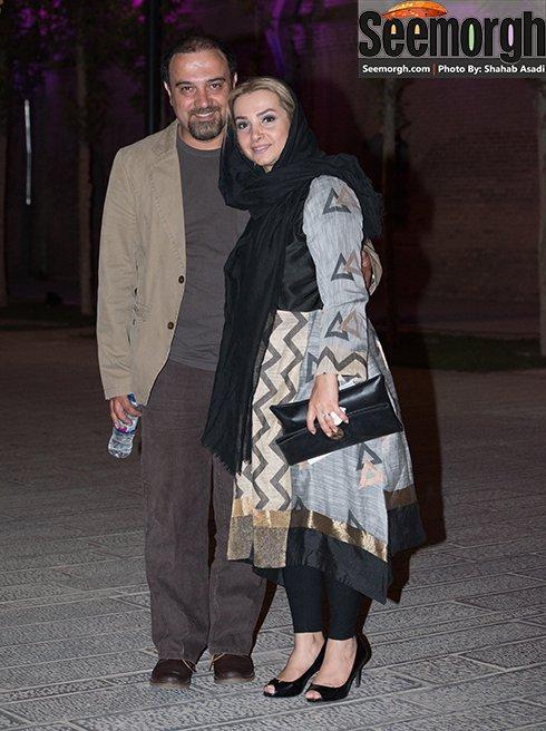 مدل لباس برزو ارجمند در جشن خانه سینما