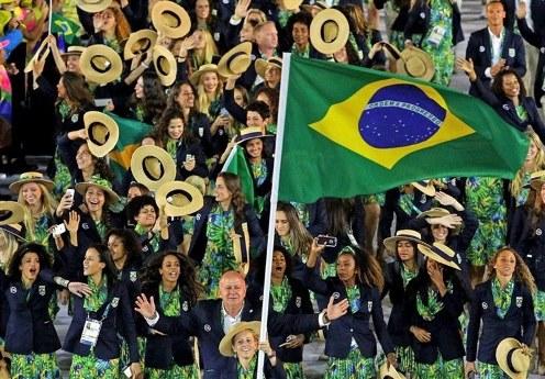 لباس برزیل در المپیک ریو 2016