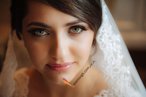 مدل آرایش عروس برای بهار 2016 - مدل شماره 2