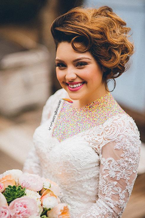 مدل آرایش عروس برای بهار 2016 - مدل شماره 4