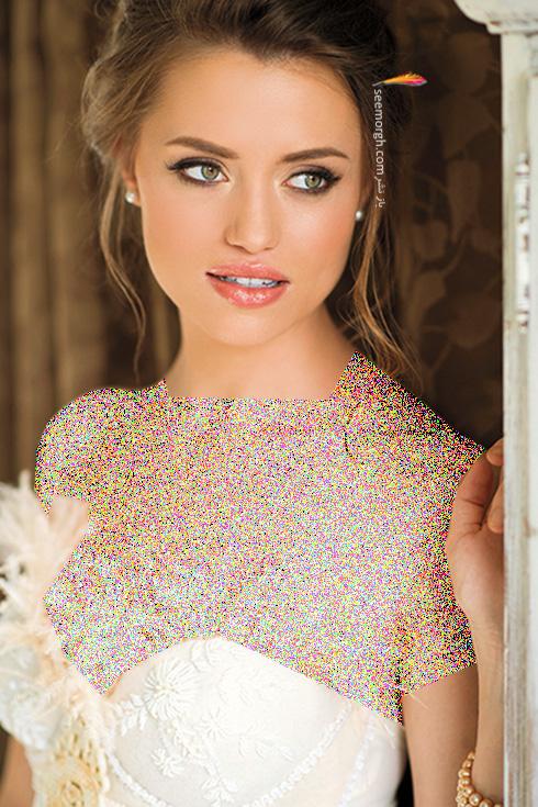 مدل آرایش عروس برای بهار 2016 - مدل شماره 8